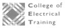 College of electrical training logo